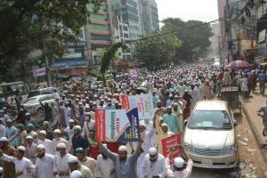 У Бангладеш десятки тисяч людей вийшли на протести через заяви Макрона