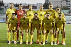 Женская сборная Украины по футболу разгромила Грецию в отборе на Евро-2022