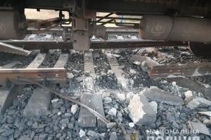 Железнодорожные пути возле Кривого Рога повредил «охотник за металлоломом»