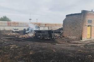 Сотрудники Харьковгаза сдают кровь для пострадавших при взрыве