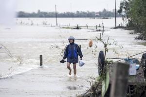 У В'єтнамі вирує тайфун «Молаве», понад 30 загиблих, десятки зниклих безвісти