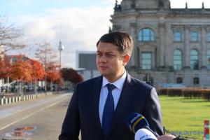 Parlament und Präsident werden schnell reagieren - Parlamentschef Rasumkow über Entscheidung des Verfassungsgerichts