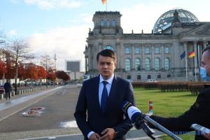 Міжпарламентська співпраця допоможе Україні та ФРН у досягненні амбітних цілей – Разумков