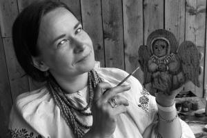 В возрасте 39 лет умерла львовская иконописец и волонтер Татьяна Думан