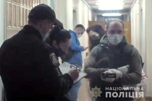 На Хмельнитчине пытались похитить экземпляр протокола о подсчете голосов избирателей