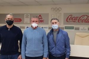 Бубка зустрівся з керівництвом Федерації дзюдо України