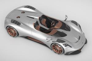 «Паучок» за $600 тысяч: в Италии представили мощный спорткар