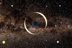 Астрономы обнаружили самую маленькую «планету-изгоя» в межзвездном пространстве