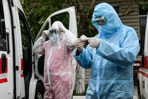 Covid-19: Ukraine meldet 15.331 Neuinfektionen binnen eines Tages