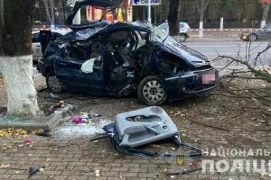 В Ізмаїлі п'яний водій в'їхав у дерево, є загиблі