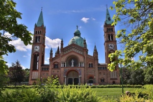 До католицького храму Відня увірвалися пів сотні молодиків