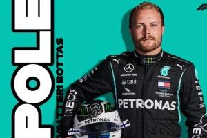Формула-1: Боттас виграв кваліфікацію Гран-прі Емілії-Романьї