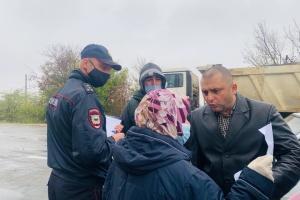 У Криму матір політв'язня відвезли до лікарні після спілкування з російськими силовиками