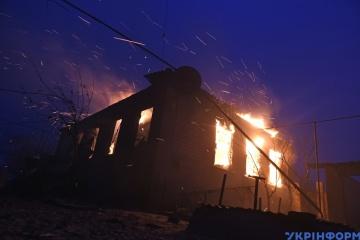 Incendie dans la région de Louhansk: 9 tuées et au moins 17 blessées