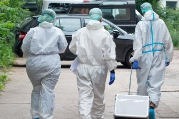 In Region Kyjiw 217 neue Covid-18-Fälle nachgewiesen, sieben Menschen gestorben