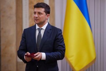 Präsident Selenskyj reist zu Staatsbesuch nach Großbritannien