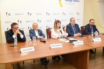 ウクライナはクリミア脱占領プラットフォームへロシアを招待する=外務次官