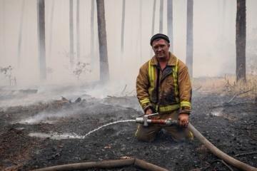 Acht gefährliche Glutnester in Region Luhansk beseitigt