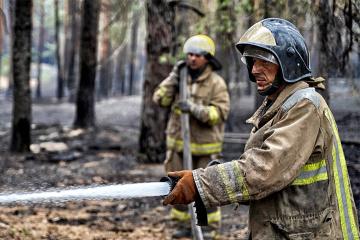Brände in Region Luhansk gelöscht