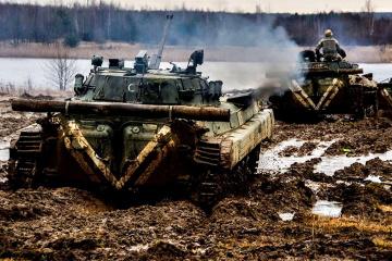 Besatzer brechen 10 Mal Waffenruhe in der Ostukraine
