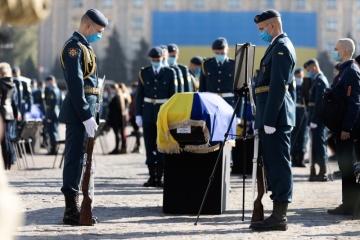 Járkiv despide a los fallecidos en el accidente aéreo An-26