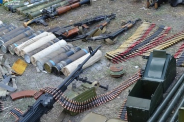 Over 100,000 munitions seized from occupiers' caches in Donbas