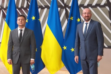 Zelensky llega a Bruselas para la cumbre UE-Ucrania