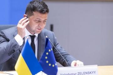 Zelensky: Ukraine will move towards 'industrial visa-free regime' with EU