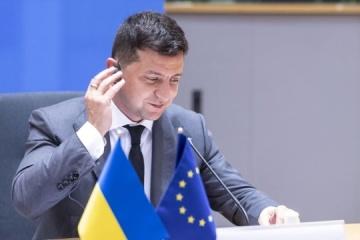 """Ukraina będzie dążyć do """"przemysłowego ruchu bezwizowego"""" z UE - Zełenski"""