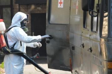 Ukrainian army reports 112 new coronavirus cases
