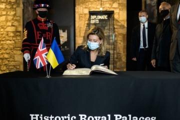 Olena Zelenska: La Torre de Londres pronto tendrá una audioguía en ucraniano