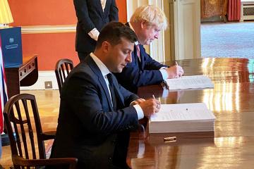 Ucrania y el Reino Unido firman el Acuerdo de Cooperación Política, Libre Comercio y Asociación Estratégica