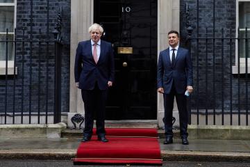 「英国はウクライナの最も熱心なサポーターだ」=ジョンソン英首相