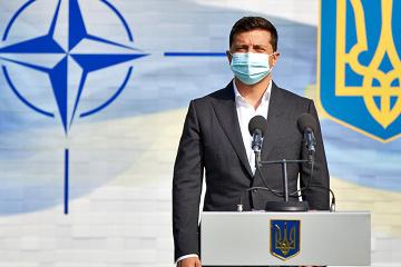 「ウクライナのNATO加盟はファンタジーではない」=ゼレンシキー大統領