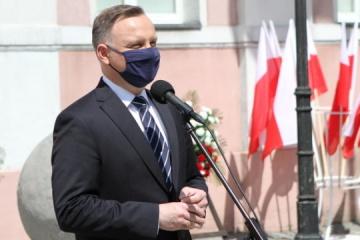 Präsident Duda gedenkt in Kyjiw Holodomor-Opfer