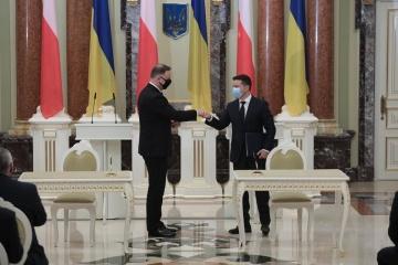 Ukraina i Polska mają nadzieję na przywrócenie obrotów handlowych, takich jakie były przed pandemią