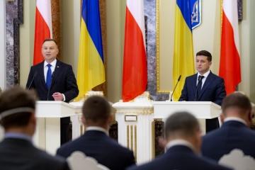 Krim, Donbass und Reformen: Selenskyj und Duda geben gemeinsame Erklärung ab