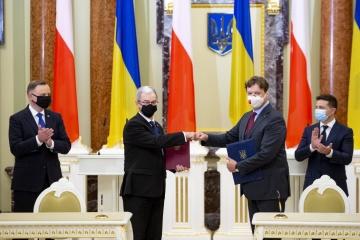 Ukraine und Polen unterzeichnen Abkommen über Privatisierung in der Ukraine