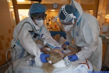 Zahl der Corona-Infektionen in Kyjiw auf 598 gestiegen, 12 Menschen gestorben
