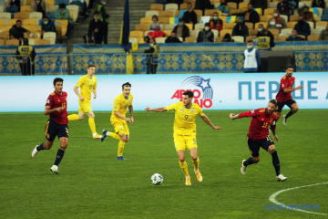 UEFA Nations League: Nationalmannschaft der Ukraine besiegt Spanien