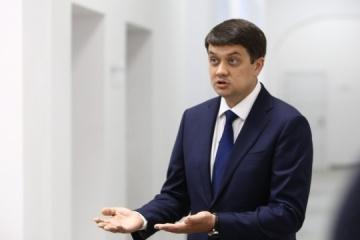 """Razumkov: El diálogo entre Ucrania y Rusia continuará """"de una u otra forma"""""""