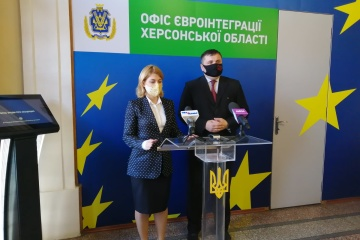 Stefanishyna: Se abre la primera Oficina de Integración Europea en Jersón