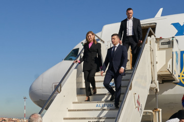 Zelensky llega a Turquía