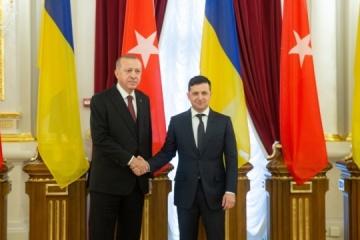 Zelensky y Erdoğan hacen una declaración conjunta tras la reunión