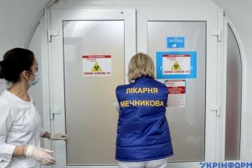 12月23日時点 ウクライナ国内新型コロナ新規確認数1万136件
