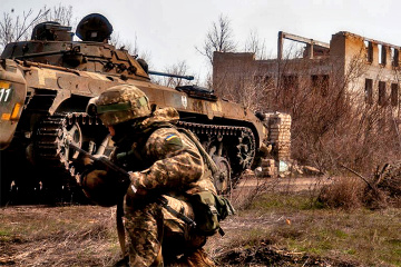 Invaders launch four attacks on Ukrainian troops in Donbas