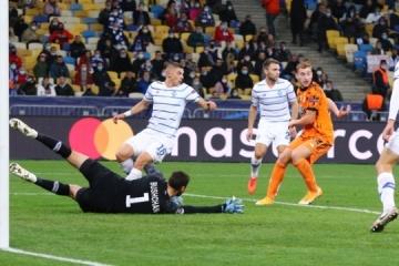 Ligue des Champions : le Dynamo Kyiv battu par la Juventus