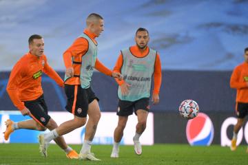 «Шахтар» зустрічається в Мадриді з «Реалом» у Лізі чемпіонів УЄФА
