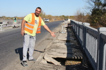 Ukravtodor to repair 14 bridges in Luhansk region in 2021