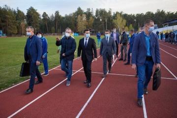 Зеленский посетил кадетский лицей на Луганщине